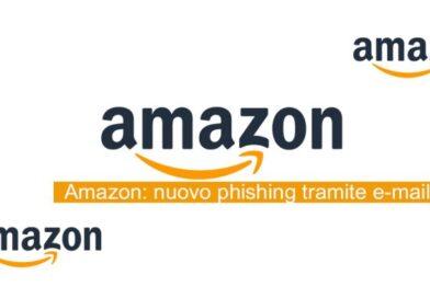 Nuova mail phishing Amazon