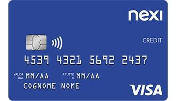 Carta di credito Nexi